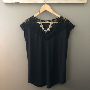 Express Gramercy Lace Top